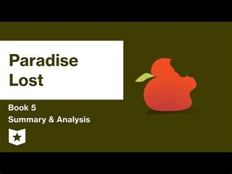 Paradise lost summary book 9